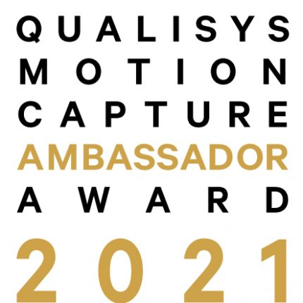 Qualisys – Motion Capture Ambassador Award 2021 - feature photo